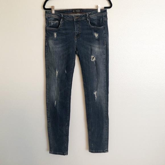 Zara Denim - Zara Trafaluc Skinny Jeans Medium Wash Size 10